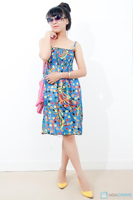 Đầm maxi voan - 3