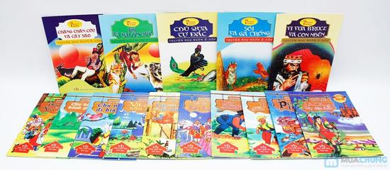 15 cuốn truyện cổ và ngụ ngôn bằng tranh cho bé. Chỉ với 77.000đ - 1