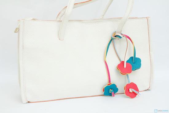 túi sách họa tiết hoa mai - 8