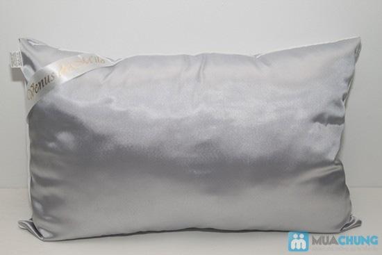 Bộ drap kate + 2 ruột gối hơi 40 x 60cm - Chỉ 225.000đ - 1