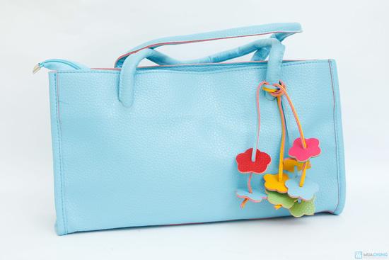 túi sách họa tiết hoa mai - 7