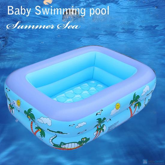 bể bơi phao Summer sea SL-C012 ( loại 2 tầng ) - 4