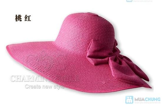 Mũ đi biển đính nơ điệu đà - 13