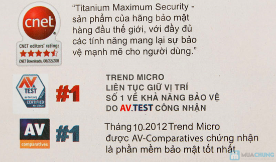 Phần mềm diệt virus Titanium - 1