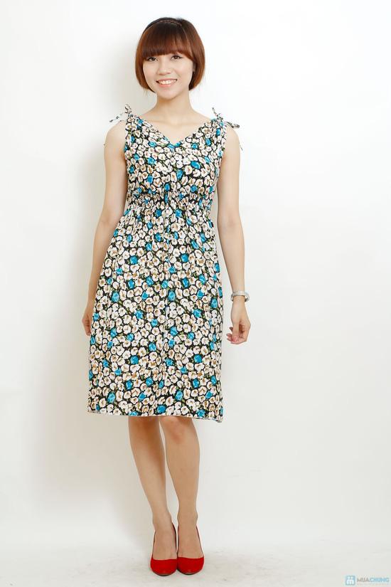 Combo 2 váy lanh họa tiết mùa hè - deal Thời trang Nữ giảm 34 ...