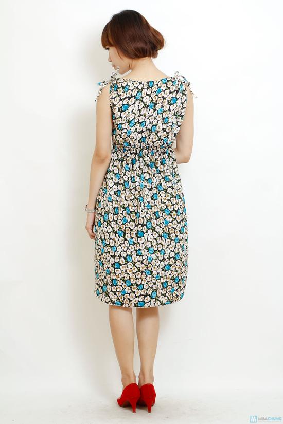 Combo 2 váy lanh họa tiết mùa hè - 8