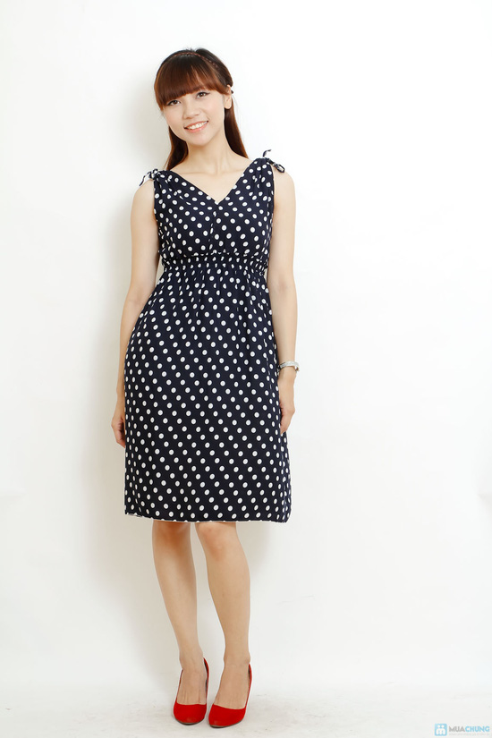 Combo 2 váy lanh họa tiết mùa hè - 4