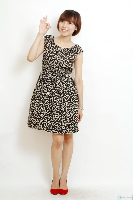 Combo 2 váy lanh họa tiết mùa hè - 2