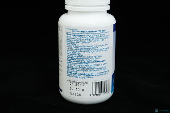 Thực phẩm chức năng Omega 3 Fish Oil TPCN OMEGA 3 FISH OIL- BỔ SUNG DHA 117mg, EPA 175mg - 2