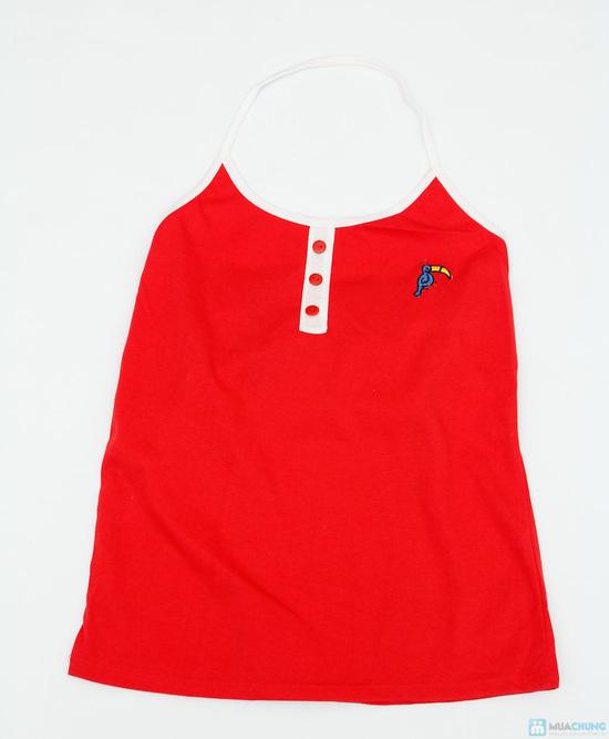 combo 2 sản phẩm: áo yếm + áo 2 dây thừng - 3