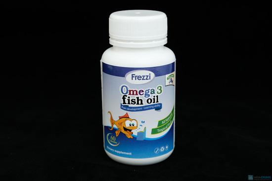 Thực phẩm chức năng Omega 3 Fish Oil TPCN OMEGA 3 FISH OIL- BỔ SUNG DHA 117mg, EPA 175mg - 1