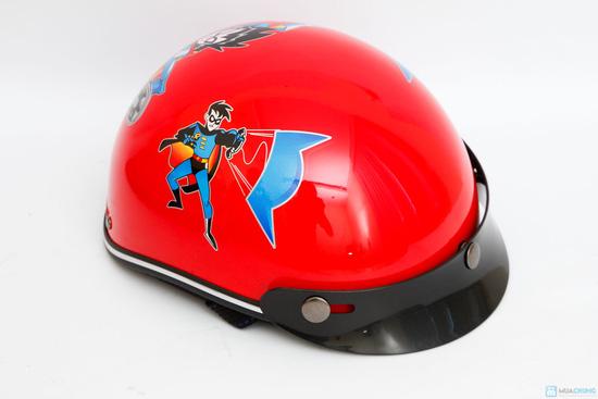 mũ bảo hiểm chính hãng thời trang cho bé HKT - 3