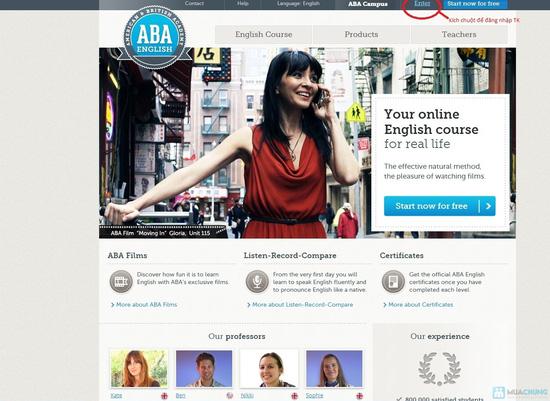 Nói Tiếng anh giọng chuẩn với ABA English Central Châu Âu - 2