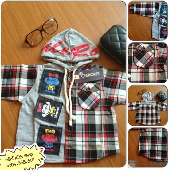 Combo 2 áo thun cotton 100% cho bé trai (1 tháng - 5 tuổi) - 5
