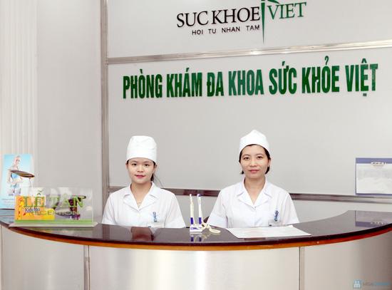 Gói kiểm tra sức khỏe tổng quát tại Phòng khám đa khoa sức khỏe Việt - 2