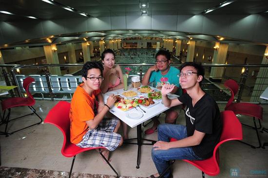 Bơi không giới hạn + Đồ ăn hoặc Gội đầu thư giãn tại Hapu Swimming Pool - 1