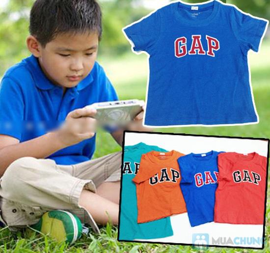 Bộ 2 áo thun cotton in chữ GAP cho bé trai (1 - 5 tuổi) - 4