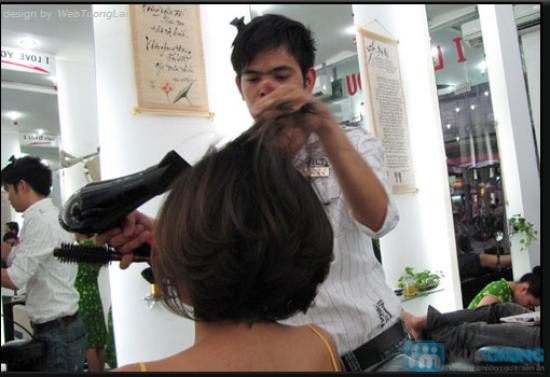 Chọn 1 trong 3 dịch vụ làm tóc: Duỗi hơi nước/Nhuộm phủ bóng nano/Uốn tại Ngọc Nữ Hair Salon - Chỉ 180.000đ - 1