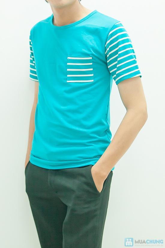 Set áo đôi xanh - 4