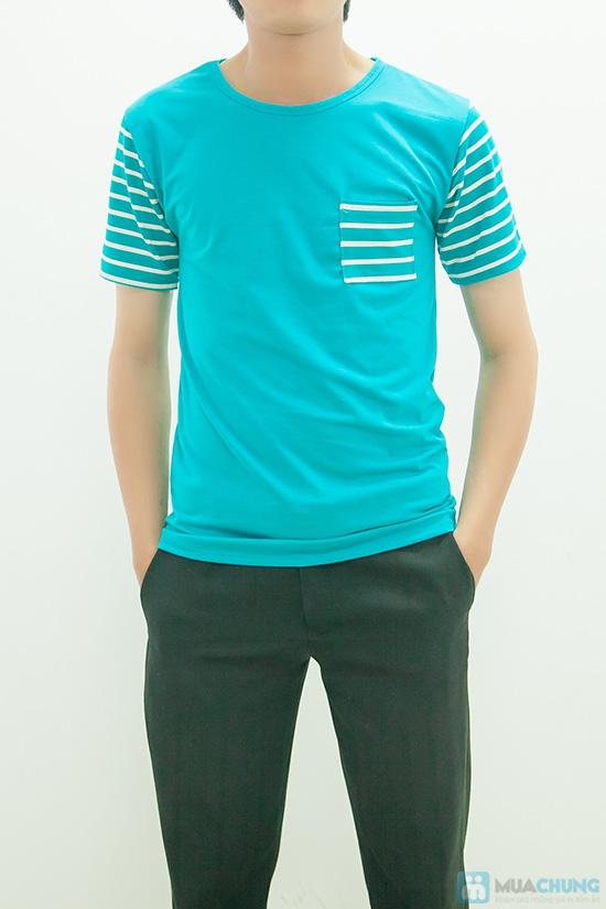 Set áo đôi xanh - 5