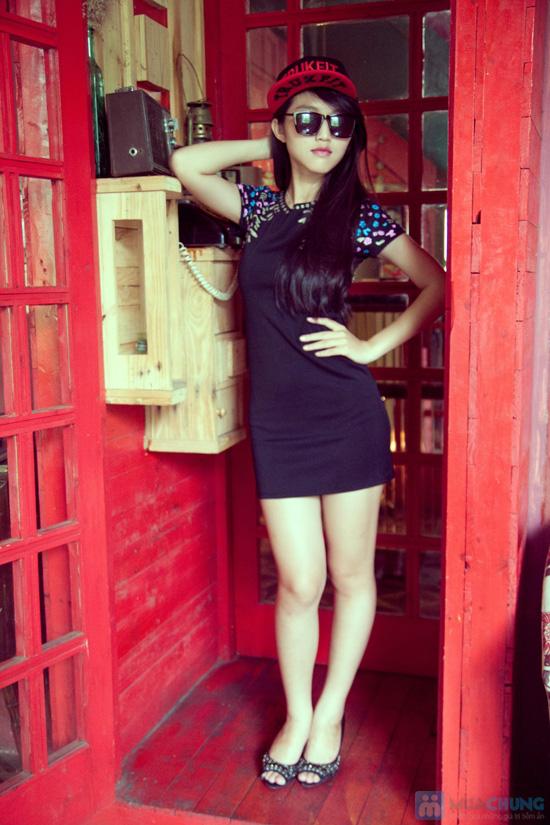 Đầm nhũ bạc - 5