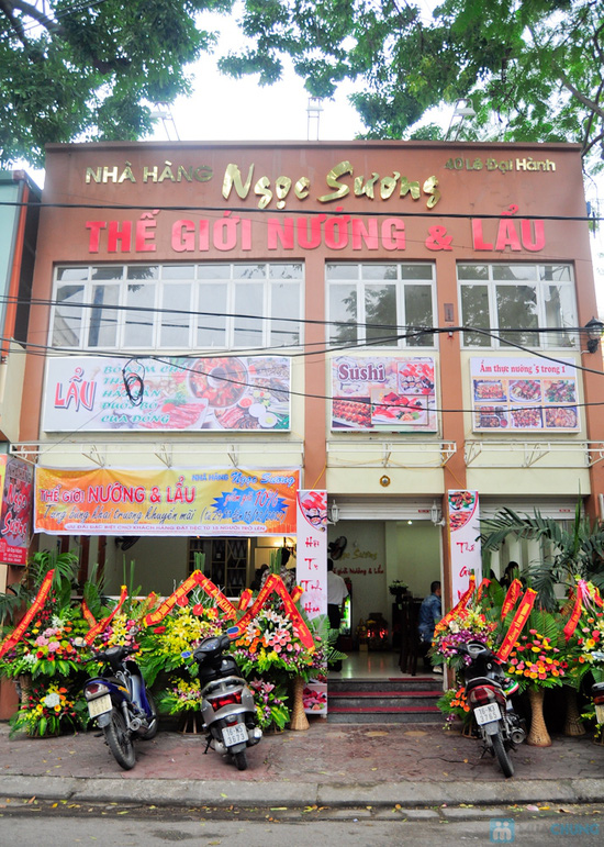 Lẩu bún riêu cua, Bò chiên Thái Lan & Tôm nướng muối ớt  tại Nhà hàng Ngọc Sương - Chỉ 297.000đ - 1