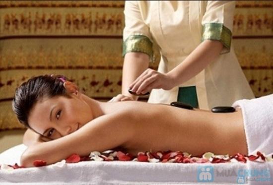 Massage body đá nóng hoặc Tẩy da chết toàn thân Ivy Spa  - 2