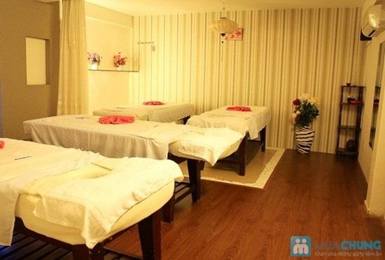 Massage body đá nóng với tinh dầu hoặc kem của hãng Gerber (70 phút) tại Spa D'oro - Chỉ 100.000đ - 4