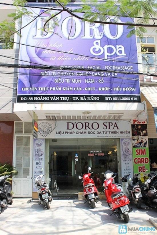 Massage body đá nóng với tinh dầu hoặc kem của hãng Gerber (70 phút) tại Spa D'oro - Chỉ 100.000đ - 9