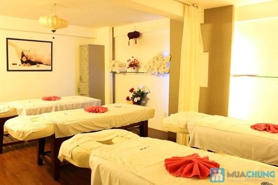 Massage body đá nóng với tinh dầu hoặc kem của hãng Gerber (70 phút) tại Spa D'oro - Chỉ 100.000đ - 6