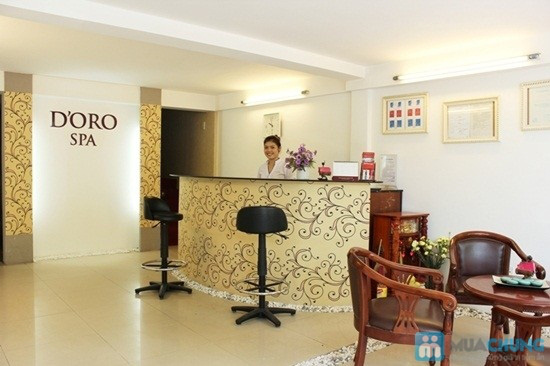 Massage body đá nóng với tinh dầu hoặc kem của hãng Gerber (70 phút) tại Spa D'oro - Chỉ 100.000đ - 5