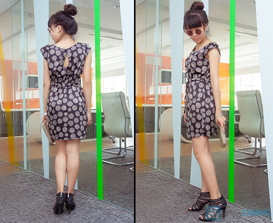 Đầm công sở - Kiểu dáng thời trang, màu sắc nhẹ nhàng - 4