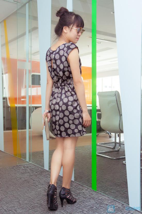 Đầm công sở - Kiểu dáng thời trang, màu sắc nhẹ nhàng - 5