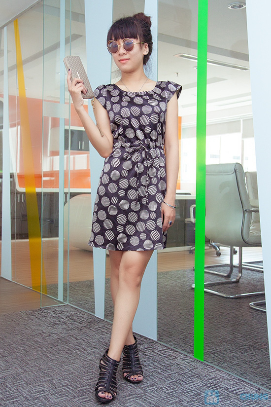 Đầm công sở - Kiểu dáng thời trang, màu sắc nhẹ nhàng - 2