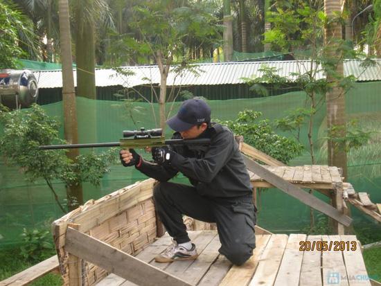 Bắn súng sơn - 8