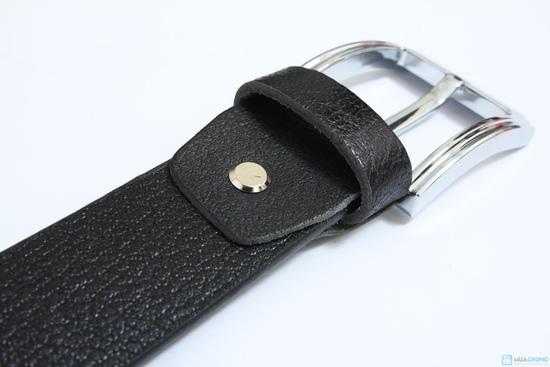 thắt lưng da thật khóa kim ( bảo hành 1 năm ) - 6