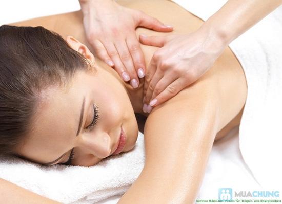 Massage body tinh dầu olive + trẻ hóa chống nhăn vùng da cổ+ chăm sóc da mặt + gội đầu - 2
