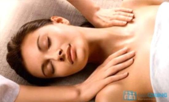 Massage body tinh dầu olive + trẻ hóa chống nhăn vùng da cổ+ chăm sóc da mặt + gội đầu - 3