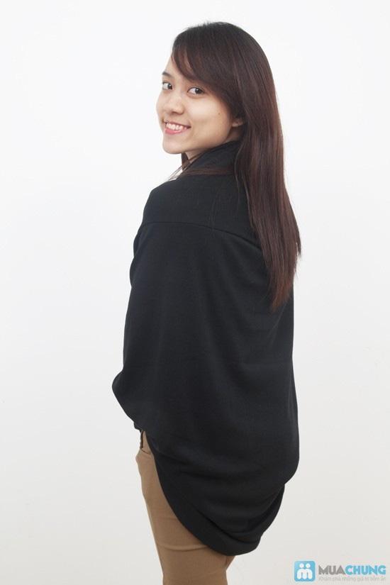 Áo khoác cardigan đuôi vịt - 5