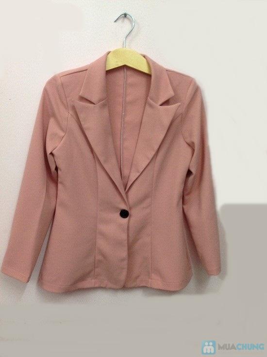Áo vest dáng dài cho nữ - 1