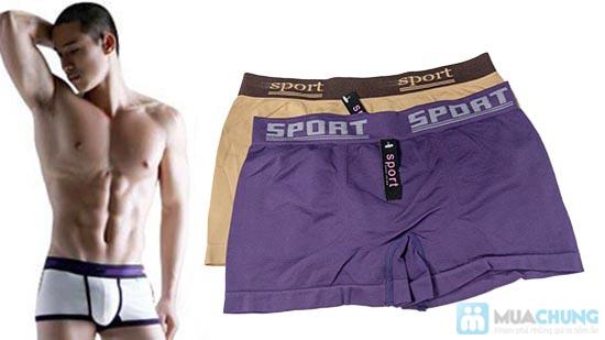 Bộ 4 quần lót boxer SPORT cho nam - 1