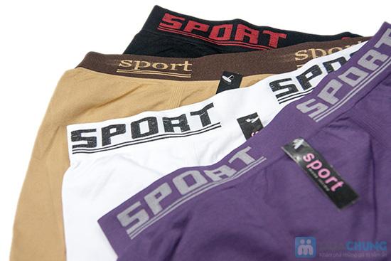 Bộ 4 quần lót boxer SPORT cho nam - 7