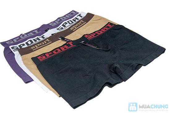 Bộ 4 quần lót boxer SPORT cho nam - 2