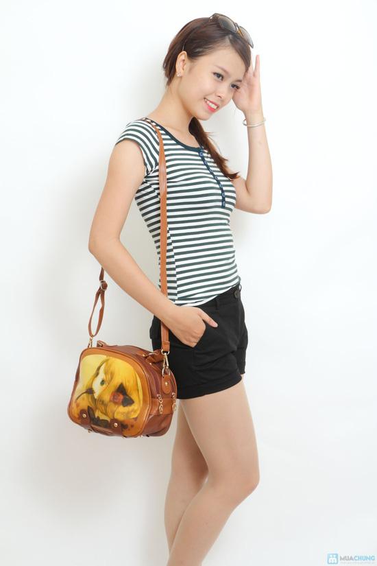 Sành điệu cùng Túi hộp hình cô gái kiểu Hàn Quốc - 9