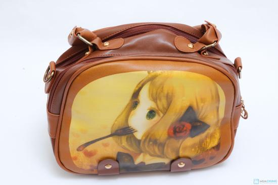 Sành điệu cùng Túi hộp hình cô gái kiểu Hàn Quốc - 3