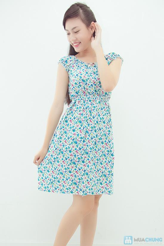 Combo 2 váy lanh họa tiết mùa hè - 3