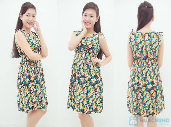 Combo 2 váy lanh họa tiết mùa hè - 6