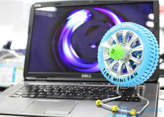 Cực mát - cực ngầu với quạt bánh xe sạc USB - 1