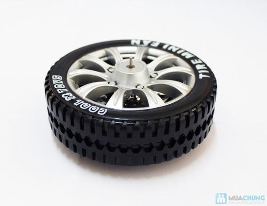 Cực mát - cực ngầu với quạt bánh xe sạc USB - 7