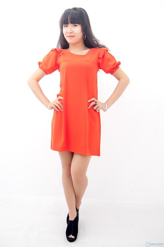 Đầm liền vai xếp li - Biến tấu nhẹ nhàng đem đến sự đáng yêu cho bạn gái - Chỉ 155.000đ/01 chiếc - 3